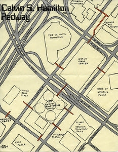 Pendersleigh Cartography Hamilton Pedway Map by Eric Brightwell