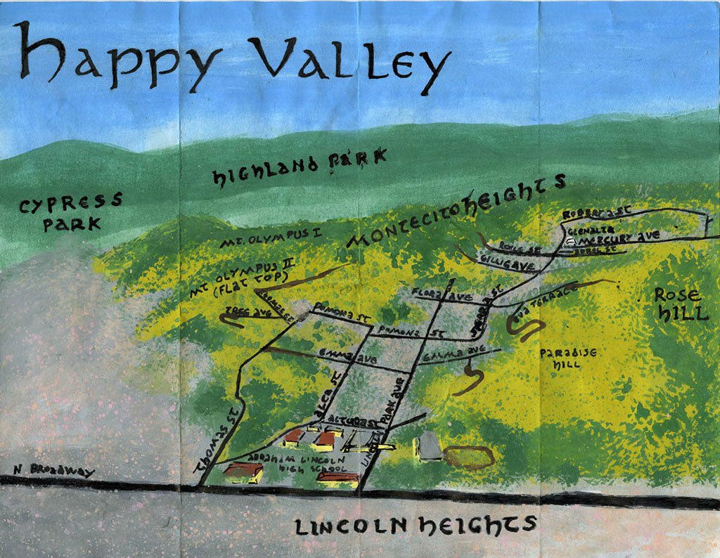 Pendersleigh Cartography Happy Valley Map by Eric Brightwell