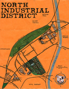 Pendersleigh Cartography North Industrial District by Eric Brightwell