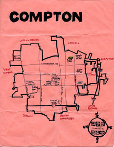 Pendersleigh Cartography Compton Map by Eric Brightwell
