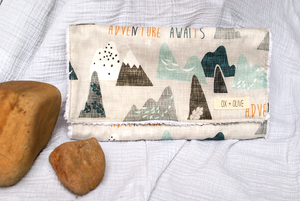 Mountain Burp Cloth