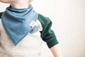 Baby Bandana Bib Set - Oxford