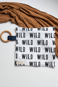 Baby Lovey Toy + Teether - Wild