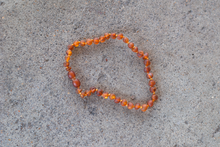 Baltic Amber Teething Necklace - Raw Cognac