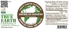 Ginseng Liquid Extract Tincture