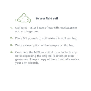Soil and Plant Tissue Test