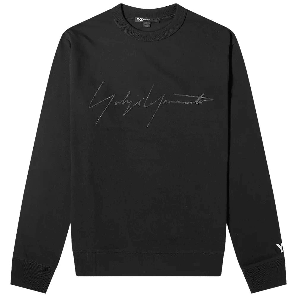 FADED SIGNATURE CREW SWEATER