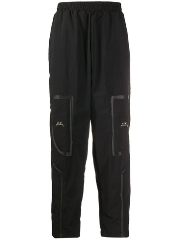WOVEN BRACKET TAPED TRACK PANTS