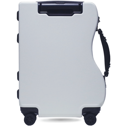 CURVE ZIPPER LUGGAGE - CARRY-ON