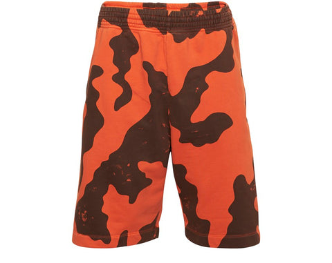 RACING SHORT CAMO ORANGE