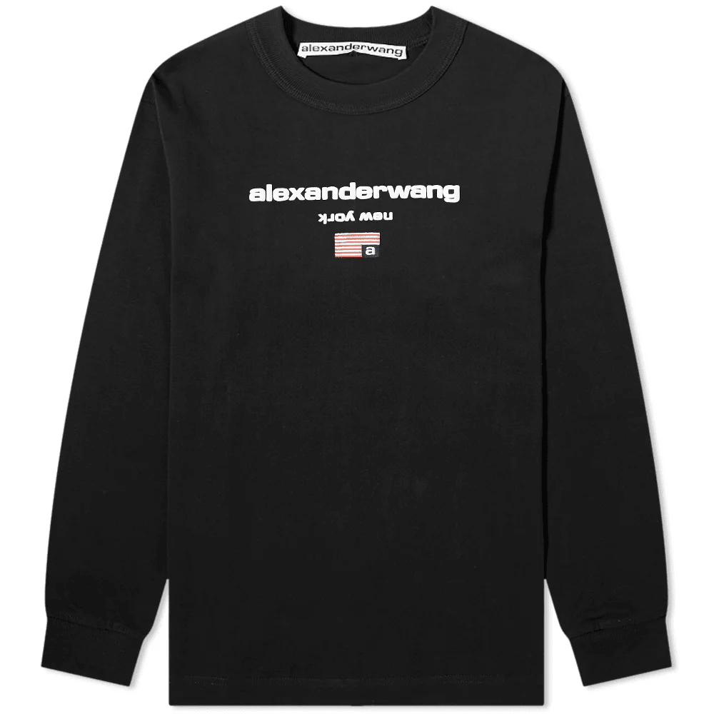 LONG SLEEVE LOGO GRAPHIC TEE