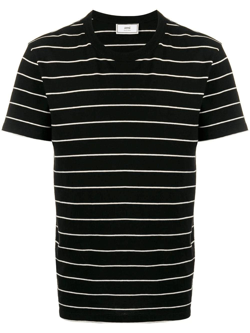 SHORT SLEEVED STRIPED TEE SHIRT