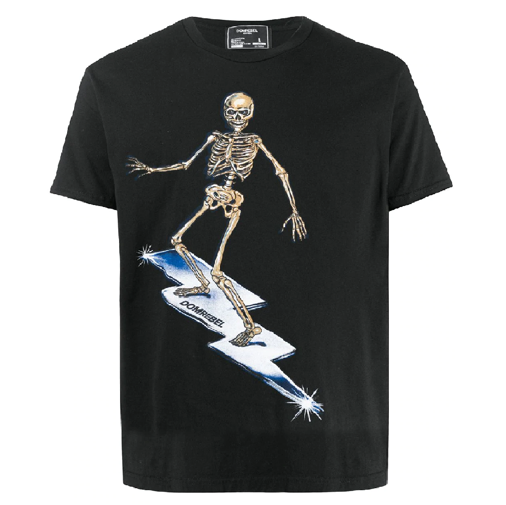 SKELESURF BOX TEE