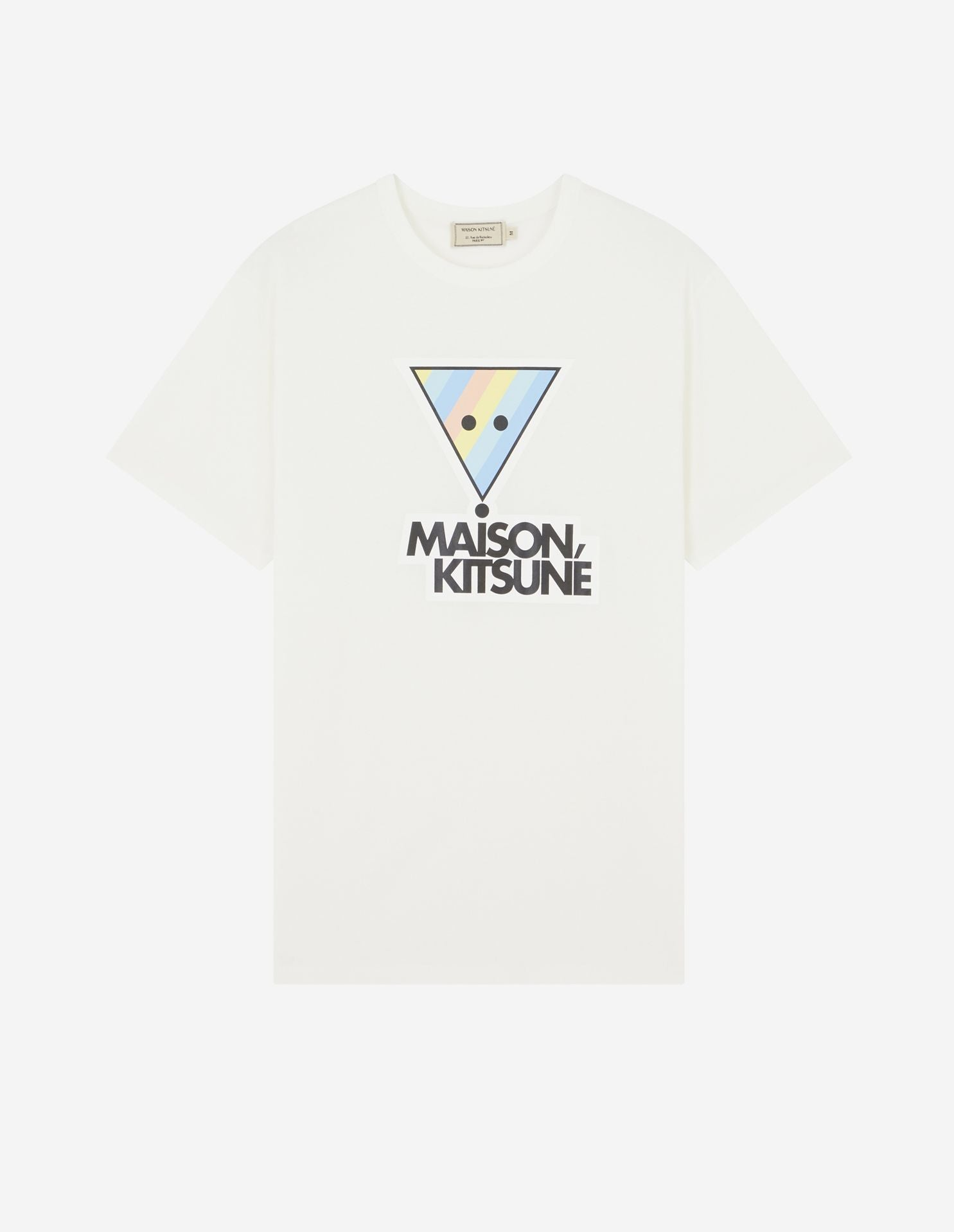 TEE-SHIRT RAINBOW TRIANGLE FOX PRINT