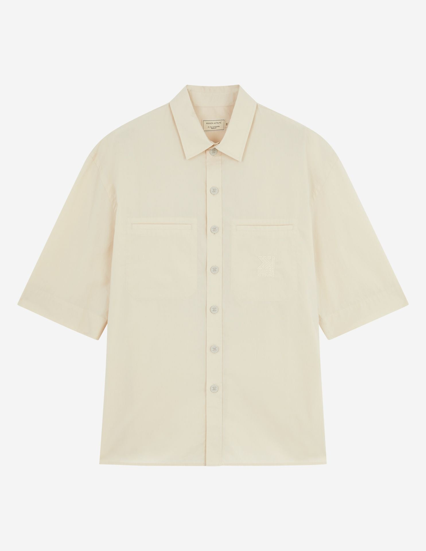 PIPED POCKETS SHIRT
