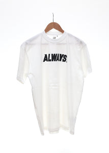 Base Logo Tee (WHITE) - Always