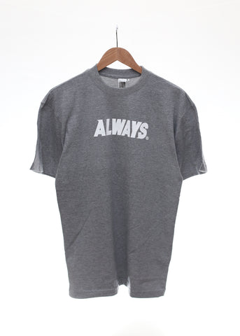 Base Logo Tee (GREY) - Always