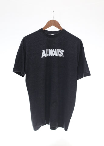 Base Logo Tee (CHARCOAL) - Always