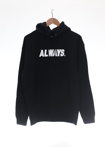 Base Logo Hoodie (BLACK) - Always