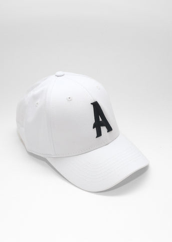 Signature Logo Baseball Cap (White) - Always
