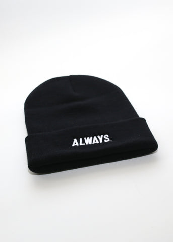Base Logo Beanie (BLACK) - Always