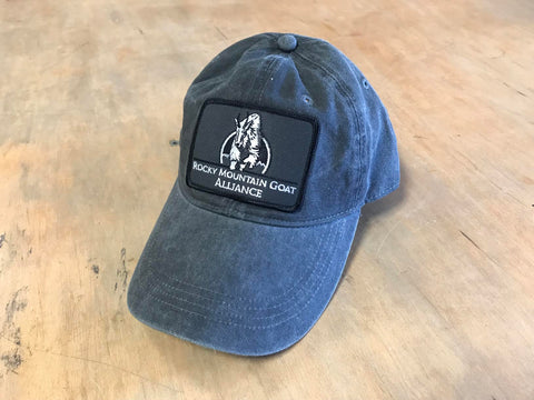 Patched RMGA Ball Cap Grey
