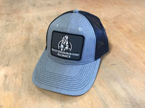 Patched RMGA Trucker Grey/Black