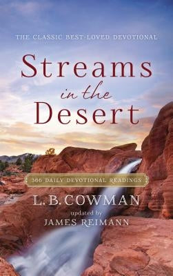 Streams in the Desert: 366 Daily Devotional Readings by Zondervan