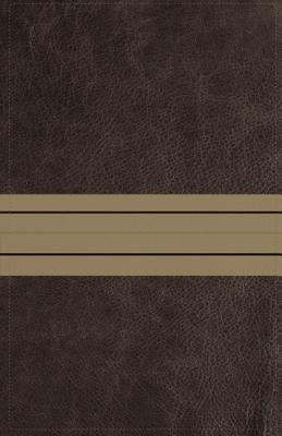 NIV, Thinline Bible, Imitation Leather, Brown, Red Letter Edition by Zondervan