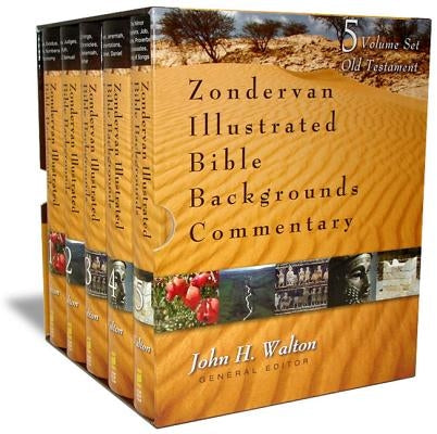Zondervan Illustrated Bible Backgrounds Commentary: Old Testament Set by Walton, John H.