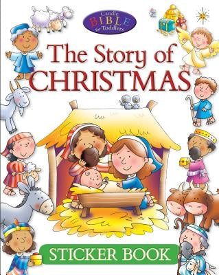 The Story of Christmas Sticker Book by David, Juliet