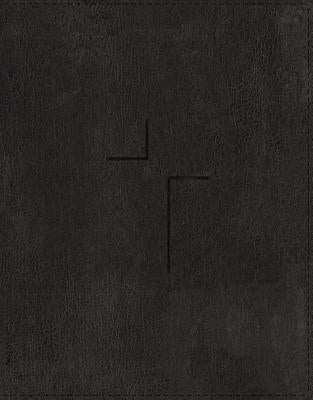 The Jesus Bible, ESV Edition, Leathersoft, Black, Indexed by Passion