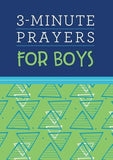 3-Minute Prayers for Boys by Mosey, Josh