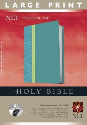 Personal Size Large Print Bible-NLT by Tyndale