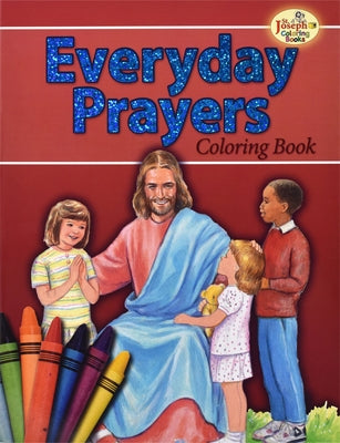 Coloring Book about Everyday Prayers by Lovasik, Lawrence G.