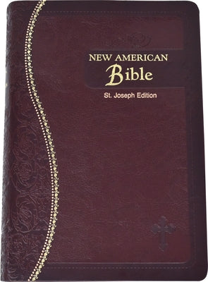 Saint Joseph Medium Size Gift Bible-NABRE by Confraternity of Christian Doctrine