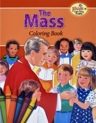 Coloring Book about the Mass by MC Kean, Emma C.