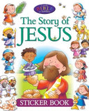 The Story of Jesus Sticker Book by David, Juliet