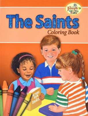 The Saints Coloring the Saints by MC Kean, Emma C.