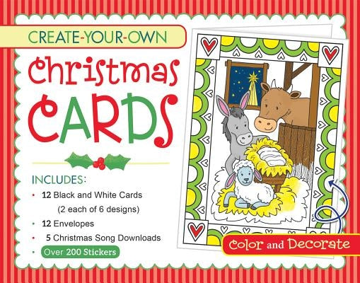 Create Your Own Christmas Cards Activity Box by Twin Sisters(r)