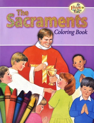 Coloring Book about the Sacraments by Lovasik, Lawrence G.