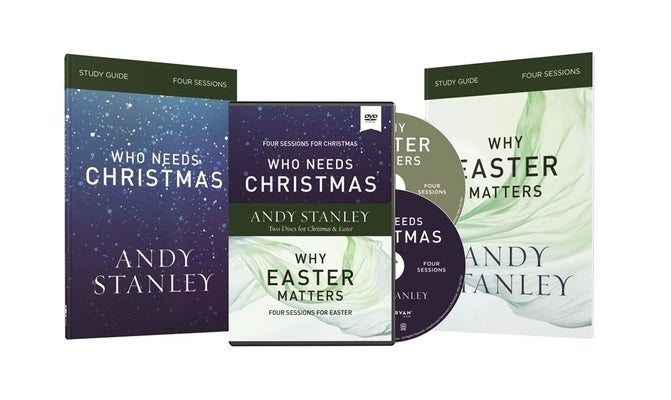 Who Needs Christmas/Why Easter Matters Study Guides with DVD by Stanley, Andy