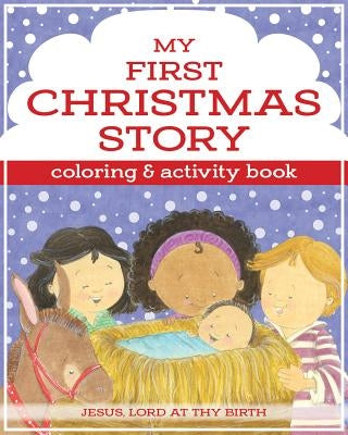 My First Christmas Story Coloring and Activity Book by Twin Sisters(r)