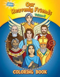 Coloring Book: Our Heavenly Friends V3 by Herald Entertainment Inc
