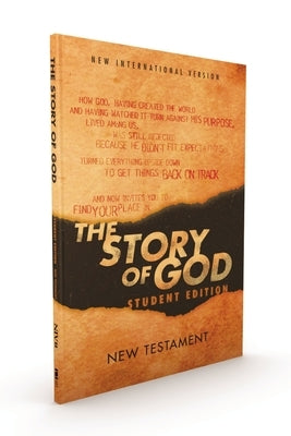 Niv, the Story of God, Student Edition, New Testament, Paperback by Zondervan