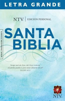 Personal Size Large Print Bible-Ntv by Tyndale
