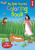 My Bible Stories Coloring Book 1 by David, Juliet