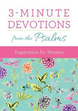 3-Minute Devotions from the Psalms: Inspiration for Women by Kuyper, Vicki J.