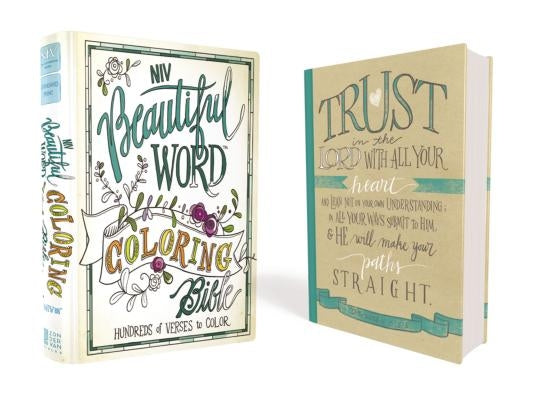 Beautiful Word Coloring Bible-NIV: Hundreds of Verses to Color by Zondervan