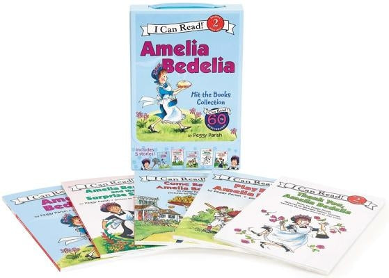 Amelia Bedelia I Can Read Box Set #1: Amelia Bedelia Hit the Books by Parish, Peggy
